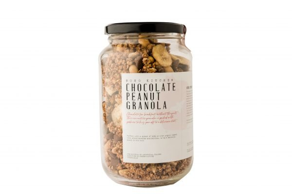 Boho Eatery - Chocolate Peanut Granola scaled