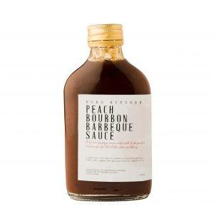Boho Eatery - Peach Bourbon Barbeque Sauce