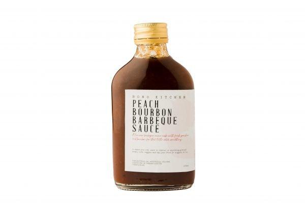 Boho Eatery - Peach Bourbon Barbeque Sauce scaled