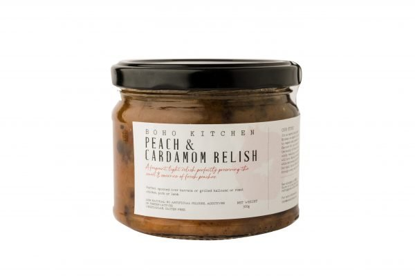 Boho Eatery - Peach Cardamom Relish scaled