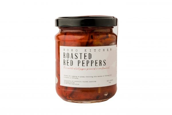 Boho Eatery - Roasted red peppers scaled