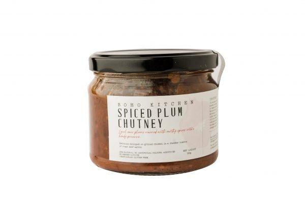 Boho Eatery - Spiced Plum Chutney scaled