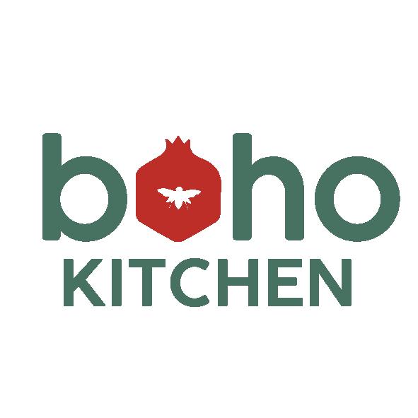 Boho Eatery - Boho Kitchen Logos 02