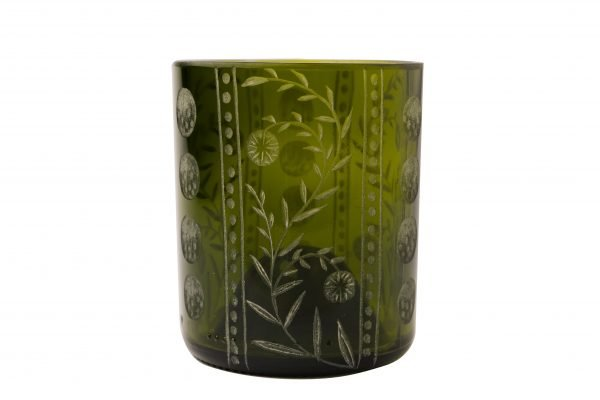 Boho Eatery - Patrona glass green scaled