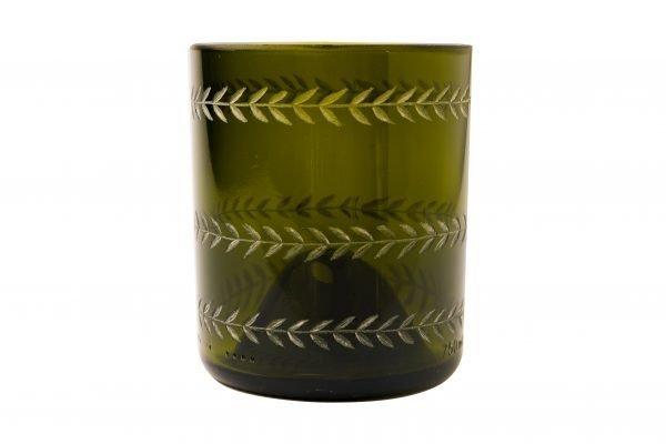 Boho Eatery - Taji glass green scaled