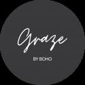 Graze By Boho_Logos_10cm by 10cm sticker-01 copy
